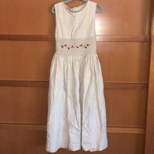 Great condition Jacadi smocked dress for Fall.